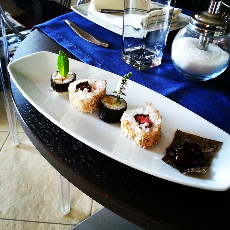 sushi dolce a colazione - Karma Vacanze
