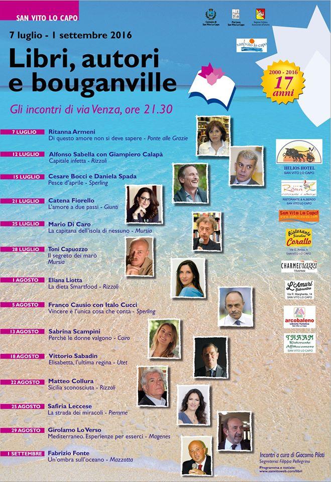Libri, autori e bouganville San Vito Lo Capo - Karma Vacanze