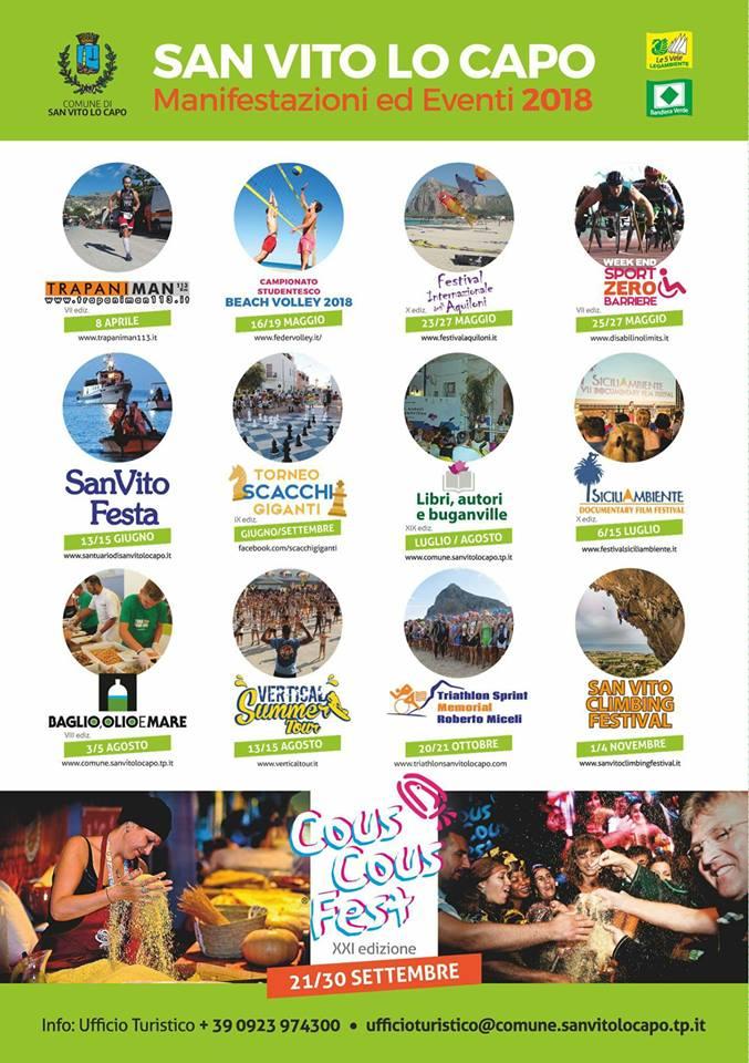 Eventi a San Vito Lo Capo, Macari e Castelluzzo - Karma Vacanze